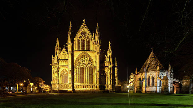 Jacek Wojnarowski - Night View over Lincoln Cathedral B