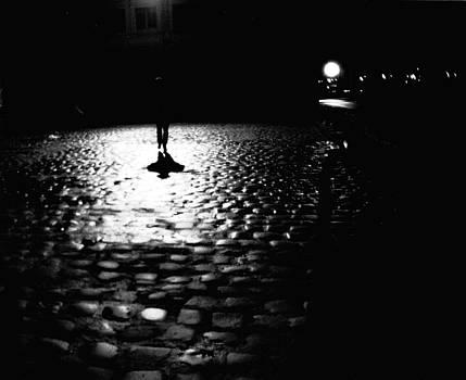 Night walk by Guy Jean Genevier