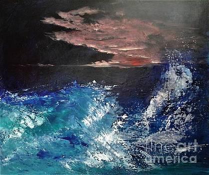 Night wave by Elena Ivanova