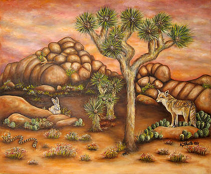 Nightlife in Joshua Tree by Kathy Shute