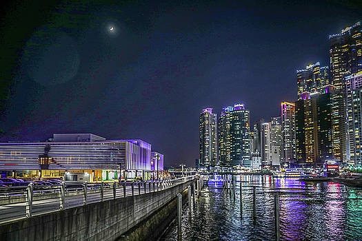 Nightscape Of Busan by Hyuntae Kim