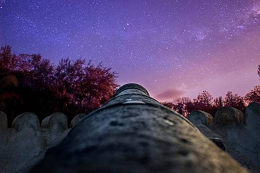 Nighttime Cannon Fire by Luis Rosario
