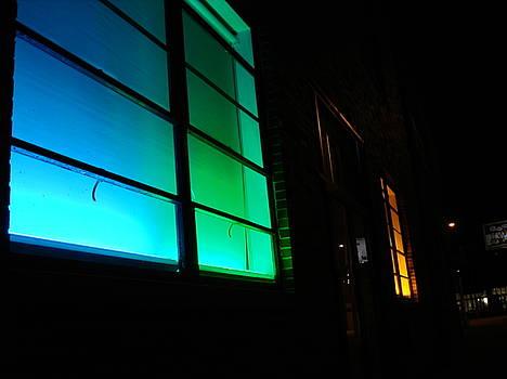 Nighttime in the Crossroads by Eliot Jenkins