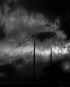 Nighttime On The Docks by Bob Orsillo