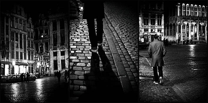 NightWalker Bruxelles Tryptich by Tina Zaknic - Xignich Photography