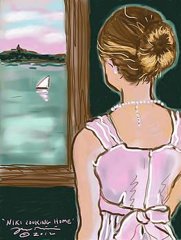 Niki Looking Home by Jean Pacheco Ravinski