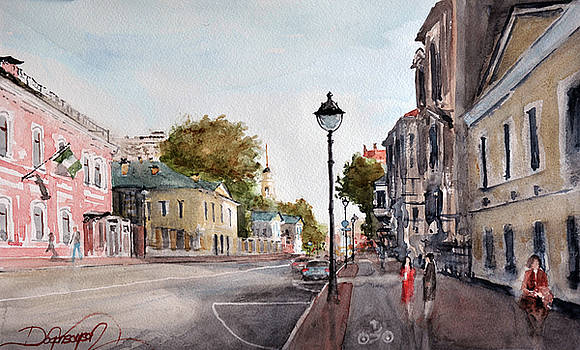 Nikitskaya St. Moscow by Dogan Soysal