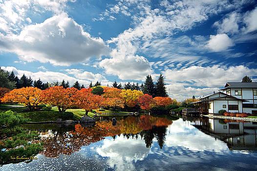 Nikka Yuko Japanese Garden by Tom Buchanan