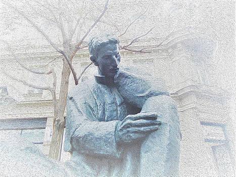 Nikola Tesla by Ann Johndro-Collins