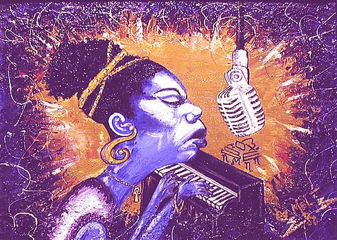 Nina   The High Priestess by Melvin Robinson