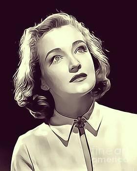 John Springfield - Nina Foch, Vintage Actress
