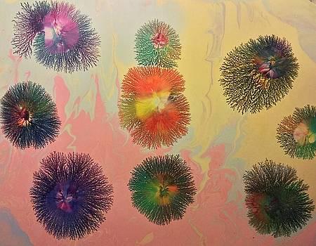 Nine Bouncing Balls by Daniel Bohnett