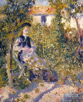 Pierre Auguste Renoir - Nini in the Garden, 1876