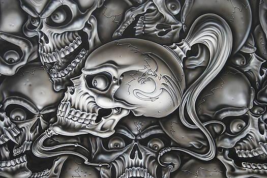 Ninja Skull by Terry Stephens
