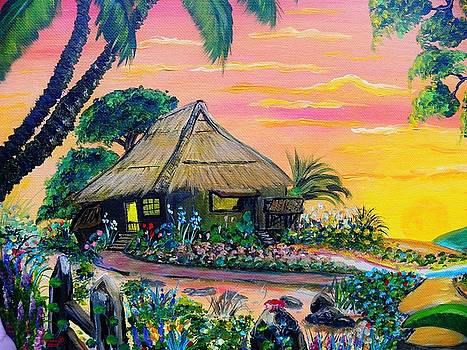 Nipa Hut by Anna Baker