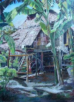Nipa Hut by Bong Perez