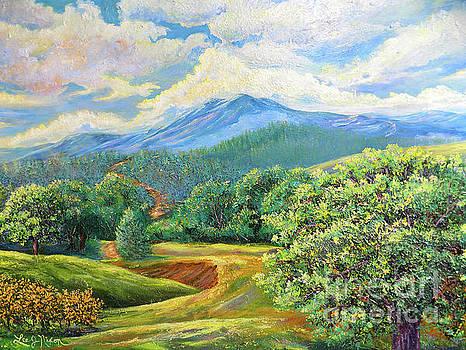 Nixon's Splendid View Of The Blue Ridge by Lee Nixon