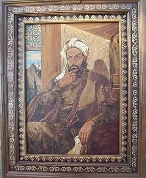 Nizami Ganjavi by Tarlan Ragimov