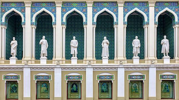 Nizami Museum of Azerbaijani Literature by Fabrizio Troiani