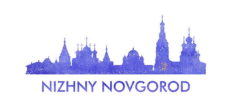 Vyacheslav Isaev - Nizhny Novgorod  city purple skyline