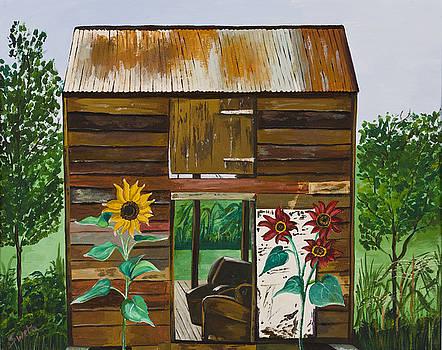 NJ Barn by Sweta Prasad