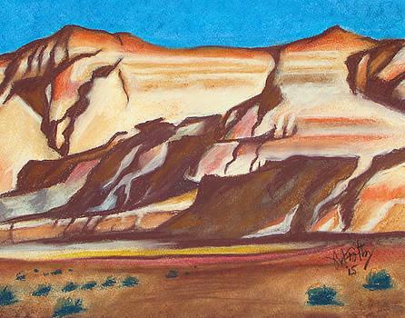 NM AZ Border by Michael Foltz