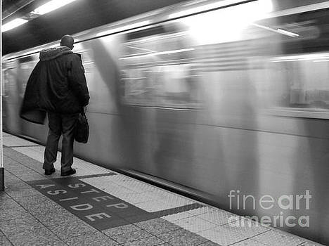 No. 6 Coming In - Subways of New York by Miriam Danar