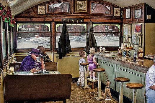 No Dogs Allowed Diner .... by Bob Kramer