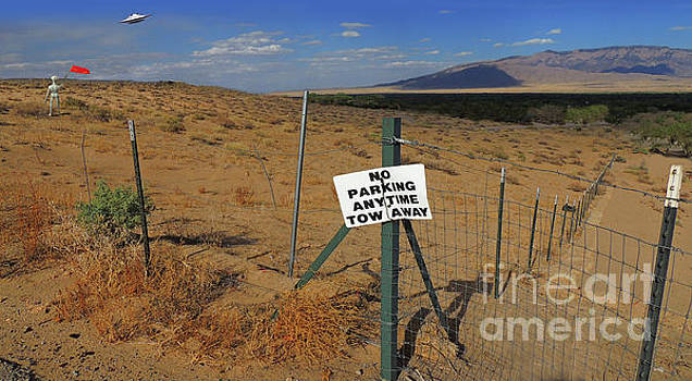 No Parking Anytime by Larry Mulvehill
