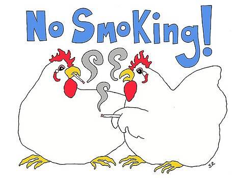 No Smoking by Sarah Rosedahl