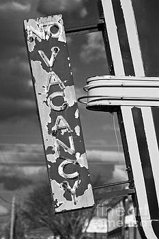 No Vacancy Sign in Art Deco Neon by ELITE IMAGE photography By Chad McDermott