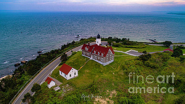 Nobska Point Lighthouse by Michael Hughes