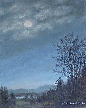 Nocturne in Blue # 2 by Kathleen McDermott