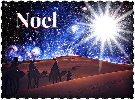 Noel Christmas Card by Aurelio Zucco