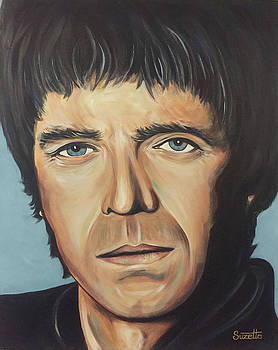 Noel Gallagher by Suzette Castro
