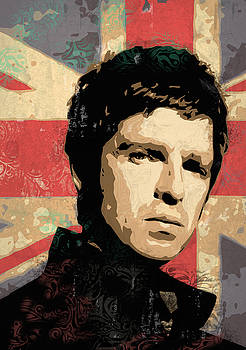 Noel Gallagher by Tom Deacon