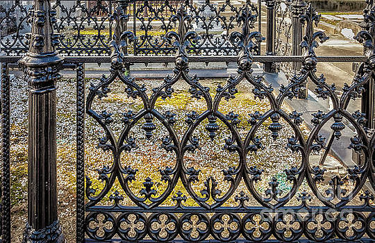 NOLA Craftsmanship - Wrought and Cast Iron Fence by Kathleen K Parker