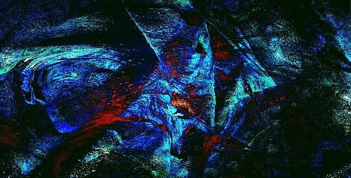 Mike Breau - Non Representational Acrylic Abstract