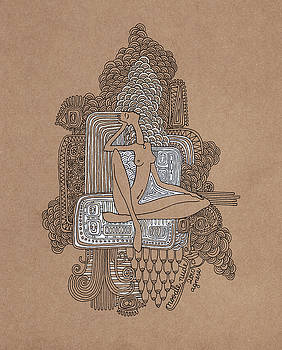 Noodle Nude by Agnese Kurzemniece