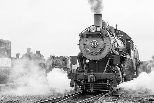 Norfolk and Western 475 by Jeff Abrahamson