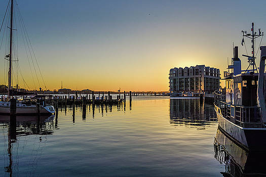Norfolk City Sunset.JPG by Doug Ash