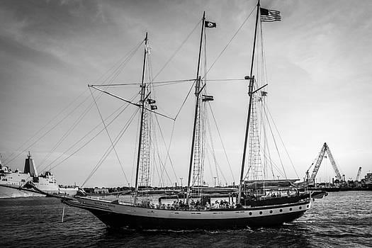 Norfolk waterfront by Samir Chokshi