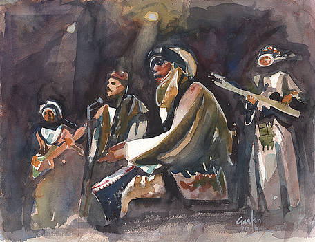 North African Musicians by Gaston McKenzie