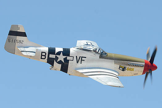 North American P-51D Mustang NL5441V Spam Can Valle Arizona June 25 2011 2 by Brian Lockett