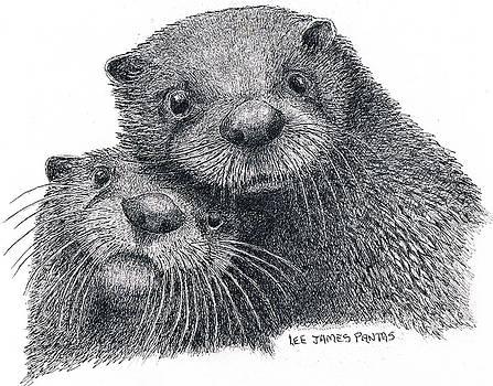 Lee Pantas - North American River Otters