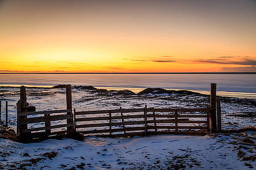 North Atlantic sunrise by Susan Leonard