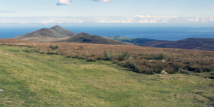 North Barrule and Maughold Head by Steve Watson