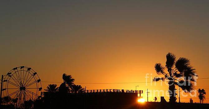North Beach sunset by Thomas OGrady