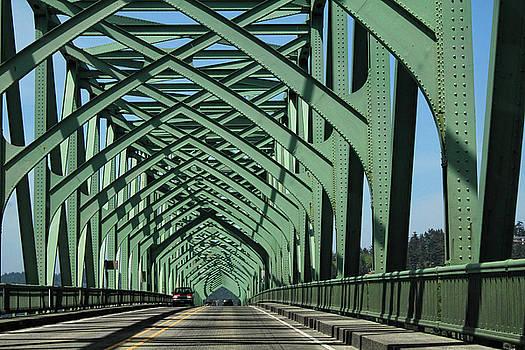 North Bend Bridge by Seil Frary