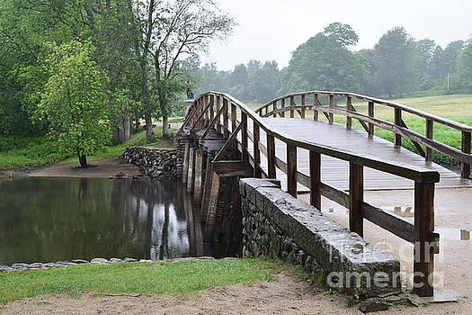 North Bridge by Leslie M Browning